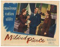 3y077 MILDRED PIERCE LC '45 Joan Crawford watches Zachary Scott romance her daughter!