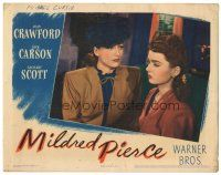 3y078 MILDRED PIERCE LC '45 close up of Joan Crawford staring at her daughter Ann Blyth!
