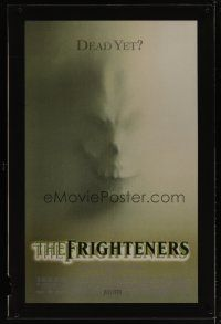 3z008 FRIGHTENERS lenticular advance 1sh '96 directed by Peter Jackson, cool skull horror image!