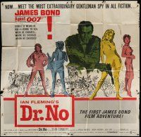 4k002 DR. NO 6sh '62 Sean Connery is the most extraordinary gentleman spy James Bond 007!