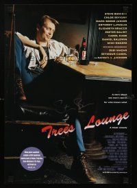 4t186 TREES LOUNGE signed mini poster '96 by Steve Buscemi, great image of the star & director!