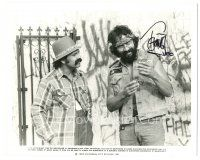 4t781 TOMMY CHONG signed 8x10 REPRO still '90s with jar from Cheech & Chong's Last Movie!