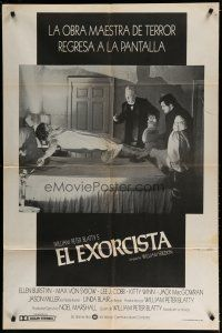 4w045 EXORCIST Argentinean R79 Friedkin, Max Von Sydow, William Peter Blatty classic, best image!