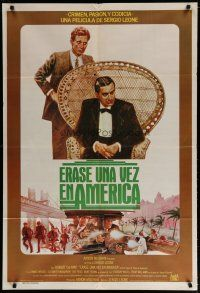 4w070 ONCE UPON A TIME IN AMERICA Argentinean '84 Robert De Niro, Woods, Sergio Leone, different!