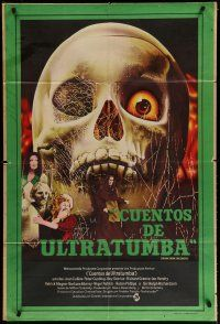 4w084 TALES FROM THE CRYPT Argentinean '72 from E.C. comics, death lives in the Vault of Horror!