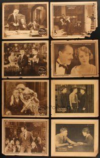 4y004 LOT OF 39 LOBBY CARDS FROM SILENT MOVIES '10s-20s from Metro, Paramount, Universal & more!