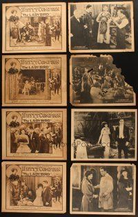 4y008 LOT OF 24 COLOR & DUO-TONE LOBBY CARDS FROM SILENT MOVIES '10s-20s from Fox, Selznick & more!