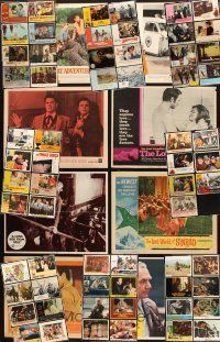 4y014 LOT OF 270 LOBBY CARDS '45 - '80 many great scenes from 71 different movies!