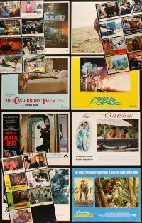 4y015 LOT OF 248 LOBBY CARDS '59 - '98 many great scenes from 31 different movies!