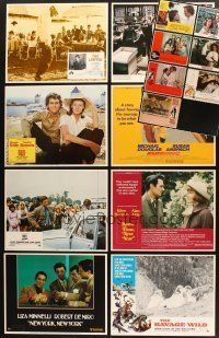 4y021 LOT OF 115 LOBBY CARDS '70 - '88 great images from 15 different movies!