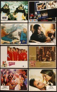 4y027 LOT OF 86 SPANISH LANGUAGE EXPORT LOBBY CARDS '71 - '98 scenes from 11 different movies!
