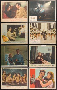 4y023 LOT OF 99 LOBBY CARDS '24 - '81 Butterfield 8, Fistful of Dollars, Long Hot Summer & more!