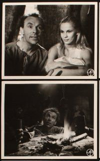5a001 SEVENTH SEAL set of 25 Swedish 9.5x12 stills R60 Ingmar Bergman's Det Sjunde Inseglet!