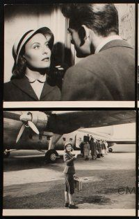 5a023 GLASS CASTLE set of 5 9.25x11.75 stills '50 beautiful Michele Morgan, Jean Marais!