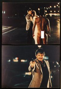 5a010 10 TO MIDNIGHT set of 19 color Dutch 8x11 stills '83 Charles Bronson, Lisa Eilbacher!