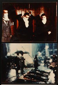 5a009 ONCE UPON A TIME IN AMERICA set of 23 color Dutch 8x11 stills '84 De Niro, Sergio Leone!