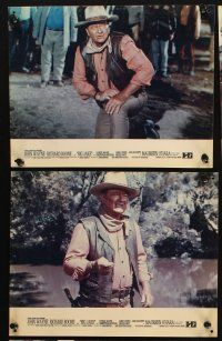 5a053 BIG JAKE set of 11 French LCs '71 John Wayne, Richard Boone, cool western images!