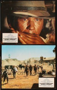 5a067 ONCE UPON A TIME IN THE WEST set of 6 French LCs '69 Leone, Cardinale, Fonda & Bronson!