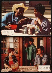5a068 PASSION FISH set of 6 French LCs '93 John Sayles, Mary McDonnell & Alfre Woodard, Strathairn!