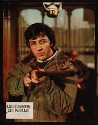 5a061 STRAW DOGS set of 9 style B French LCs '72 Dustin Hoffman & Susan George, Sam Peckinpah!
