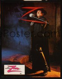 5a058 ZORRO THE GAY BLADE set of 10 style B French LCs '81 flamboyant masked hero George Hamilton!