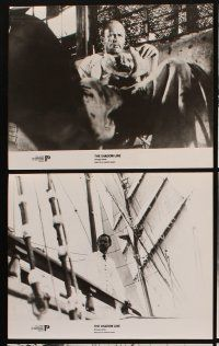 5a006 SHADOW LINE set of 11 Polish 9.5x12 stills '77 Joseph Conrad novel, images of sailing ship!