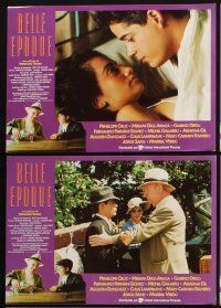 5a033 AGE OF BEAUTY set of 10 Spanish LCs '92 Belle Epoque, Penelope Cruz, French comedy!