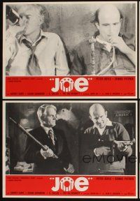 5a035 JOE set of 8 Spanish LCs '70 Peter Boyle, young Susan Sarandon in her first movie!