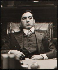 5a016 GODFATHER PART II set of 10 Swiss 8.25x10 stills '74 great close up of Francis Ford Coppola!