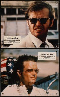 5a041 EASY RIDER set of 4 Swiss LCs '69 biker classic, Dennis Hopper & Peter Fonda!