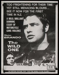 5e001 WILD ONE New Zealand '77 Marlon Brando was too frightening in 1953 for New Zealanders!