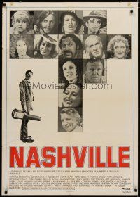 5e078 NASHVILLE Swedish '75 Robert Altman, Karen Black, Ronee Blakely, Henry Gibson!