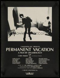 5e025 PERMANENT VACATION English Swiss '80 cool image of John Lurie, directed by Jim Jarmusch!