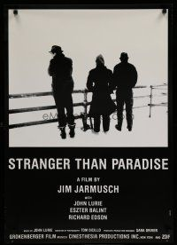5e026 STRANGER THAN PARADISE English Swiss '84 Jim Jarmusch cult classic, Lurie, Balint, Edson!