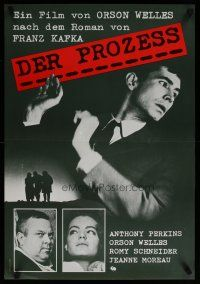 5e027 TRIAL Swiss R80s Orson Welles' Le proces, Anthony Perkins, Romy Schneider!