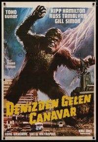 5e039 WAR OF THE GARGANTUAS Turkish '66 Furankenshutain no kaiju: Sanda tai Gaira, Toho!