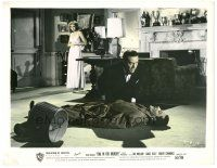 5k020 DIAL M FOR MURDER color 8x10.25 still '54 Ray Milland finds Grace Kelly with dead man!