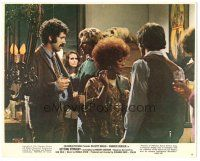 5k034 GETTING STRAIGHT color 8x10 still #8 '70 young Harrison Ford with Elliott Gould at party!
