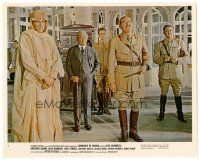 5k051 LAWRENCE OF ARABIA color 8x10 still #3 '62 Peter O'Toole, Claude Rains, Jack Hawkins, Quayle
