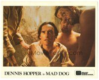 5k058 MAD DOG color 8x10 still '76 directed by Philippe Mora, great close up of Dennis Hopper!