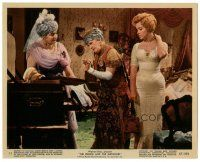 5k076 PRINCE & THE SHOWGIRL color 8x10 still #11 '57 Marilyn Monroe w/ Sybil Thorndike & another!