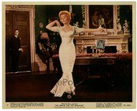 5k080 PRINCE & THE SHOWGIRL color 8x10 still #4 '57 sexy Marilyn Monroe dances in fancy room!