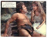 5k014 CARRY ON UP THE JUNGLE color English FOH LC '70 wacky c/u of Terry Scott in loincloth!
