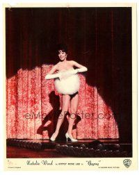 5k038 GYPSY color English FOH LC '62 sexiest Natalie Wood strutting her stuff on stage!