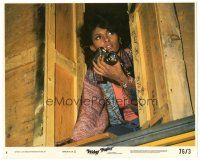 5k031 FRIDAY FOSTER 8x10 mini LC #8 '76 sexy Pam Grier snooping around with camera!