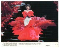 5k066 NEW YORK NEW YORK 8x10 mini LC #1 '77 great image of Liza Minnelli singing on stage!