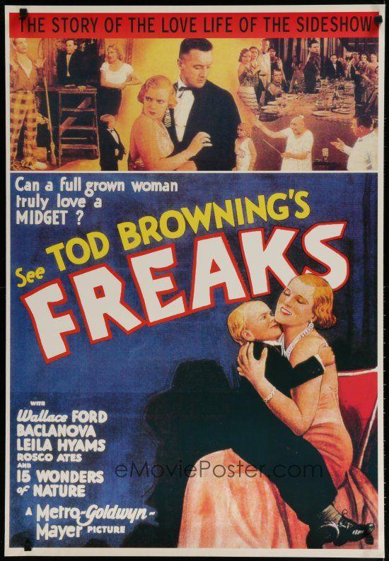Wallace Ford E USA NEW Freaks Movie POSTER 11 x 17 Olga Baclanova
