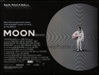 6d274 MOON DS British quad '09 great image of lonely Sam Rockwell!