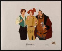 6k004 ANASTASIA matted limited edition animation sericel '97 Don Bluth cartoon!