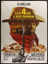 6k542 ACE HIGH French 1p R70s Eli Wallach, Terence Hill, spaghetti western, different Mascii art!